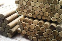 Machine Round Landscaping Poles