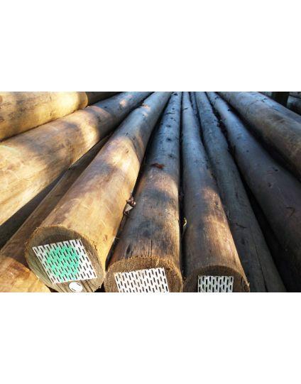 Natural Hardwood Poles